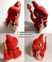 Pokemon - Charmeleon Plush by Silent-Neutral