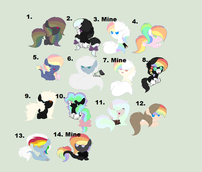 Baby adopts -Open- by RosyPony