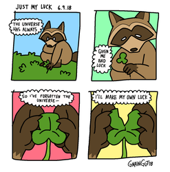 just my luck by GNAWGUT