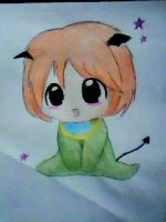 2013 drawing - chibi ^____^ by nielopena