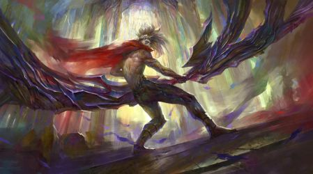 LoL fan art Varus by berylcirclet