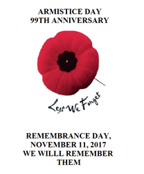 Armistice Day-99th Anniversary by incoming-101