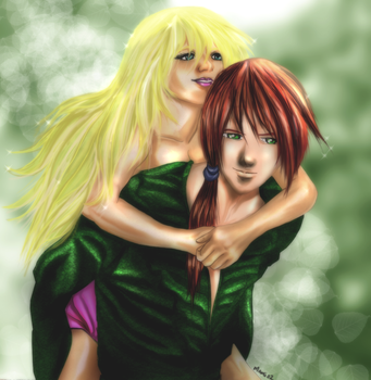 Acy and Cay by Mami02