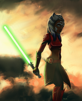 General Ahsoka- close up by RaikohIllust