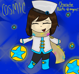 COSMIC-Chibi Human Girl Palette by ArcticAwoo