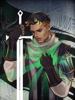 Dragon Age: Inquisition - Commission 6 by maXKennedy