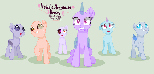 mlp base: welcome to hell everybody by NebulaArcanum-Bases
