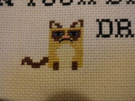 Grumpy Cat by TeaBeeAdventures