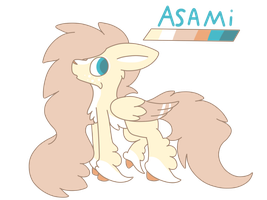 Asami somewhat new oc by mia-the-mew
