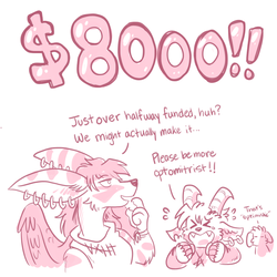 $8000 Reached! by raizy