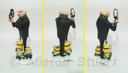 Gru and Minions - Other Angles by Alistu