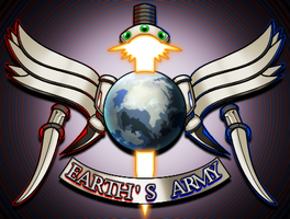 Earth's Army Coat of Arms by IrregularSaturn