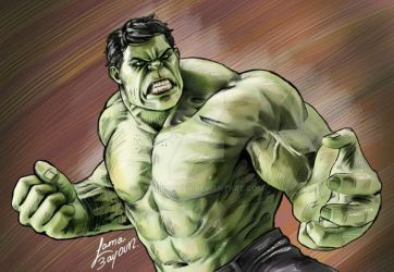 The hulk by LamaBayoun