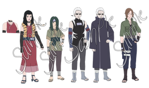 Random Naruto Adoptables -CLOSED- by anniberri