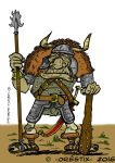 Orc warrior by Orestix