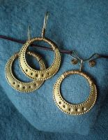 Necklace and earrings by UEdkaFShopie