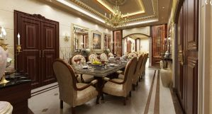 Dinning Room by Amr-Maged