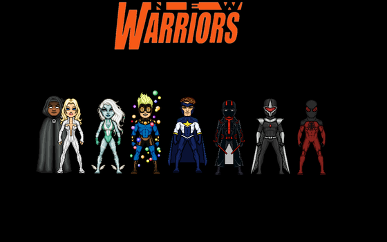 The New Warriors by Jalil1m