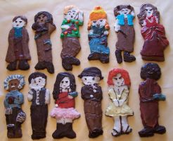 Firefly Gingerbread Cookies by sangofairy