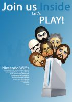 Wii Magazine Advertisement by simen91