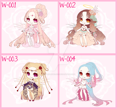 [closed] Winged Adopts by SilverAngel907