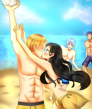 Com: At The Beach by AliceYume88