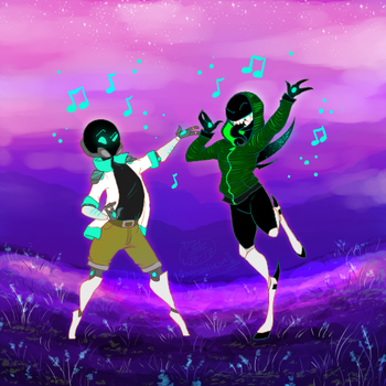 Dancing With Mars by RoomsInTheWalls