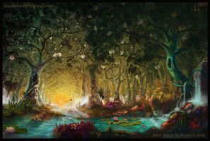 Magic Forest by Azot2017