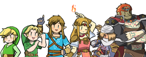 The Hyrule Fantasy by HeroLinkTriforce