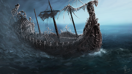 Ghostship by Joujeen