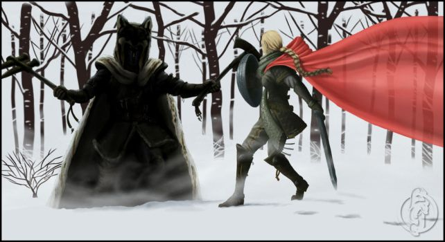 Wolf Clan and Red Hood Clan encounter by AlterEvo