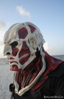 Colossal Titan Leather Mask: Attack on Titan by Epic-Leather