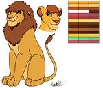 Kabili Reference Sheet by lionobsession