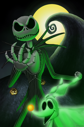 Jack Skellington by Kracov