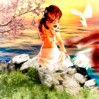An Angel Who Misses Feel Alive...Finally Free by SilviaMS