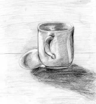 The Mug and the Egg by Speedvore