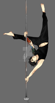 Poledancing by Roxoah
