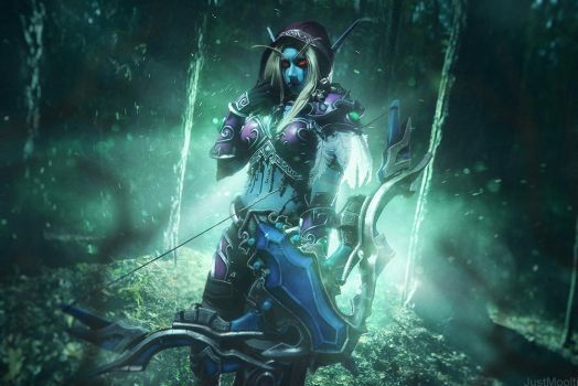 Sylvanas Windrunner - Banshee Queen by Narga-Lifestream