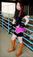 Claire Redfield Resident Evil 2 Cosplay by Hamm-Sammich