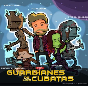 Guardians of the Cubatas by yonmacklein