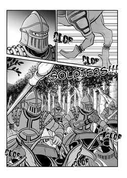 The Legend of Dragoon Manga - Page 3 (Restyling) by IceAgony