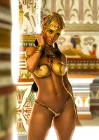 Egyptian Beauty by supersolidusnake