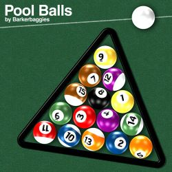 Pool Balls by barkerbaggies