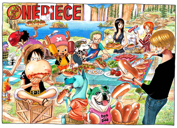 Color Spread in Chapter 410 by Claudia-Cher