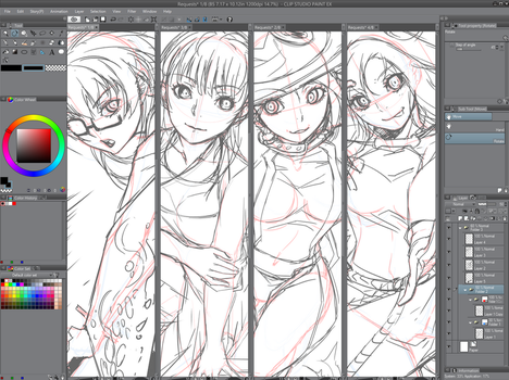 November Requests WIP by ComiPa