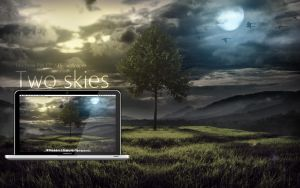 MBP Two Skies Wallpaper by Martz90