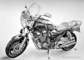 YAMAHA XJR by Color3brush
