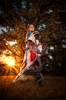 Aloy- Horizon Zero Dawn by MadameSkunk