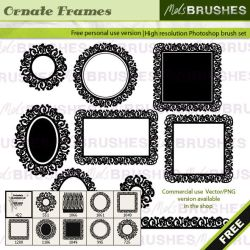 Ornate Frames by melemel