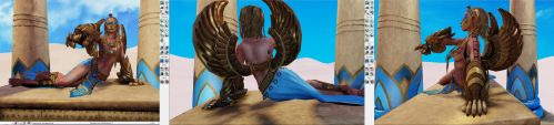 Sphin wip in UDK by DigiAvalon